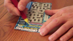 lottery scratchcard remover, Eliminator, scratchoff, scratch card, lottery gift, lottery present,