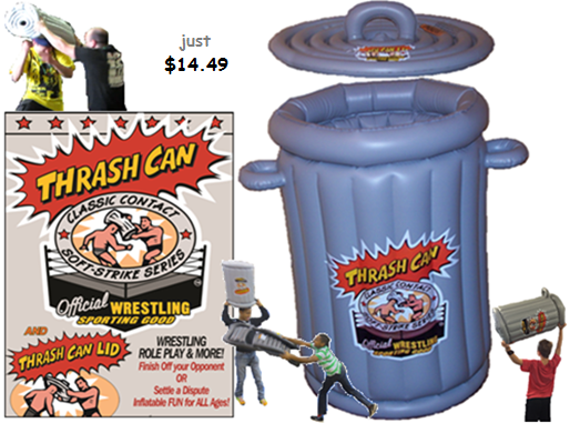 Thrash Can Wrestling Trash Can Toy